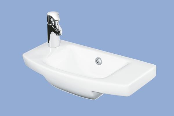 Alföldi Miron kézmosó balos 50 cm fúrt fehér 5197 5L xx