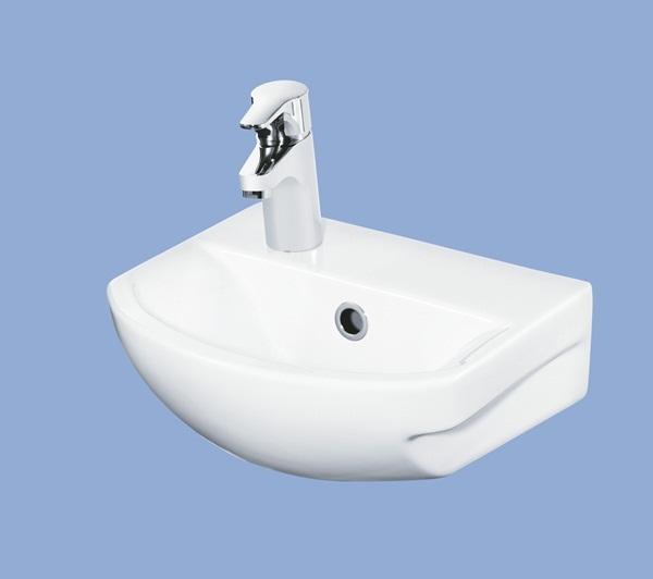 Alföldi Miron kézmosó balos 36 cm fúrt fehér 5393 5L xx