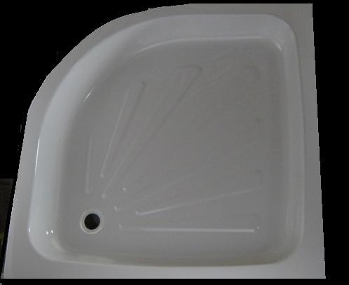 Mistral 80x80 íves lemez zuhanytálca