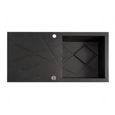 Marmorin Foorn II szögletes gránit mosogató 1 medence + csepegtetővel 1000 x 500 x 250 mm