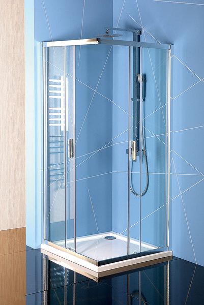 Polysan EASY LINE szögletes zuhanykabin 90x90 (EL5115)