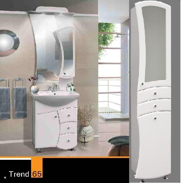 Guido trend 65 komplett + trend 1013 üveges fehér bútor SZETT AKCIÓ