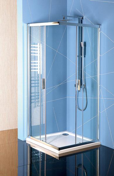 Polysan EASY LINE szögletes zuhanykabin 80x80 (EL5215)