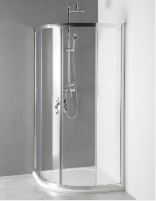 GELCO SIGMA íves zuhanykabin 90x90 cm + ajándék zuhanytálca (AG4290)