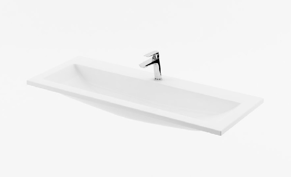 Ravak Mosdó Clear 1000 fehér nyílással  (XJJ01110000)