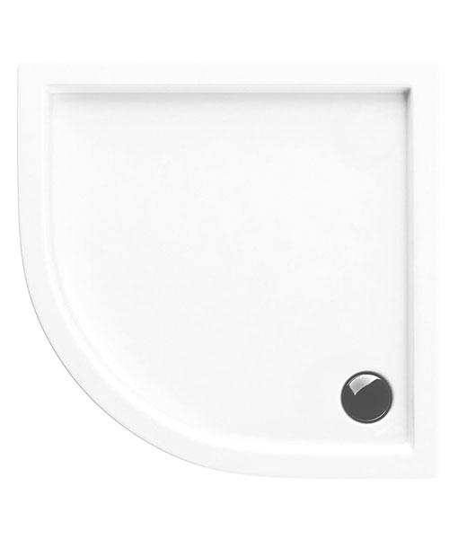 Excellent Base akril 80x80 íves zuhanytálca fehér