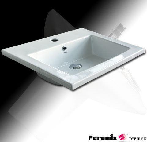 Feromix Quadro beépíthető mosdó Q-L423