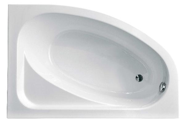 Niagara Wellness CORNEA/BETTY 150x100 jobbos aszimmetrikus kád