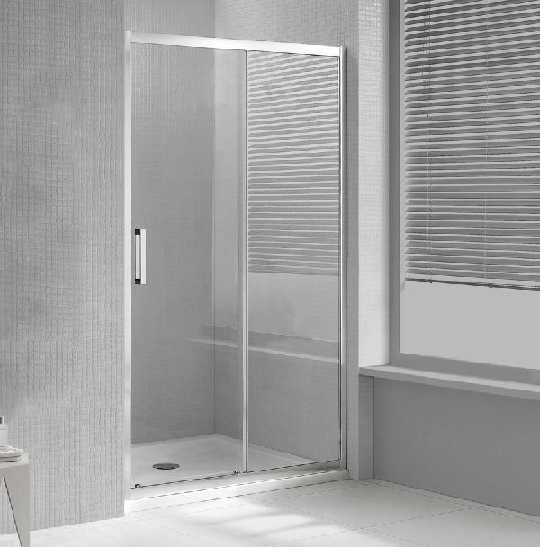 Wellis PREMIER tolóajtós zuhanyfal 100x190cm