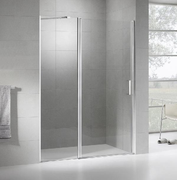 Wellis PURE nyílóajtós zuhanyfal 100x190cm
