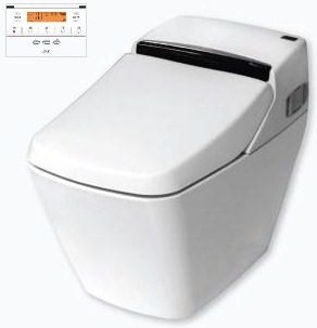 Easy-bid VOVO Princess PB 707s toilet komplett wc berendezés öblítővel és elektromos bidével ellátva
