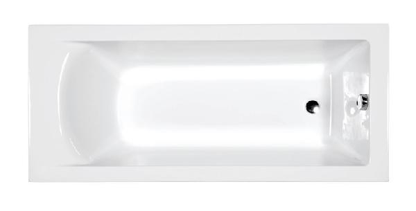 M-acryl FRESH 170X75 egyenes kád  AJÁNDÉK LÁBBAL
