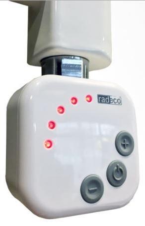 Radeco fűtőpatron 1000W fehér HEC 1.0.