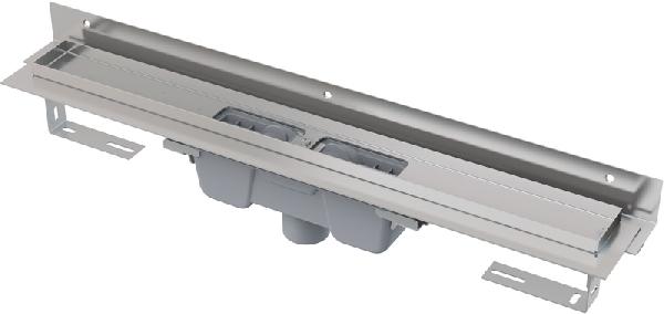 Alcaplast APZ1004-650 zuhanyfolyóka állítható peremmel
