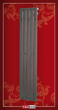 CALLE 1 COLOR RAL RADECO design csőradiátor