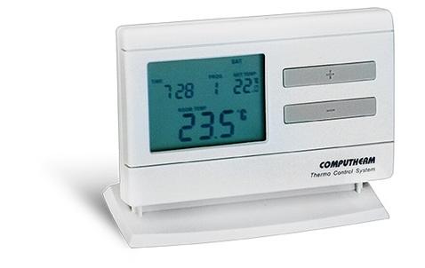 Computherm Q7RF rádió frekvenciás szobatermosztát szett programozható (adóvevővel együtt)