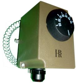 BRH kivezetett érzékelős csőtermosztát