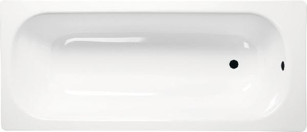 Sapho AQUALINE lemezkád láb nélkül, 140x70 fehér (V140X70)