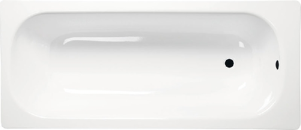 Lemezkád 160x70 láb nélkül, fehér (V160x70)