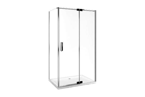 Excellent COLORS szögletes zuhanykabin 90x1200x195 jobbos, nyíló ajtóval