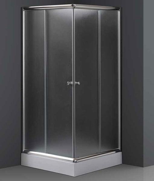 Niagara Wellness Ambon frost szögletes zuhanykabin + tálca (Oskar) 90x90x206