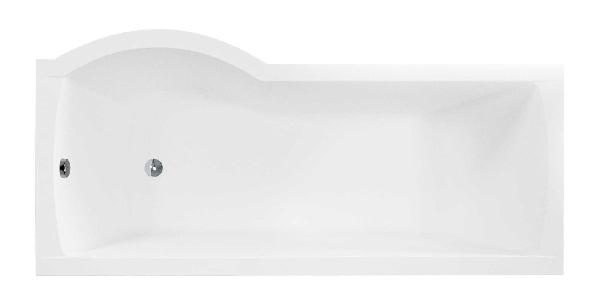 Besco INSPIRO 150x70 - 1 részes kádparavánnal jobbos
