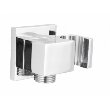 Deante Cascada szögletes sarokszelep zuhanytartóval NAC_053K