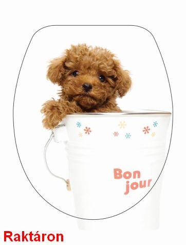 BRH Kutya kicsi Duroplast WC-ülőke