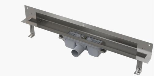 Alcaplast APZ5-SHADE-1050 falba építhető zuhanyfolyóka