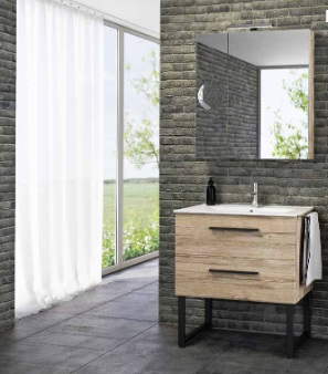 Tboss Milano 75 fürdőszobabútor Komplett