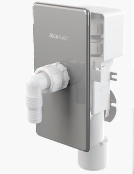 Alcaplast APS3P Falba szerelhető rozsdamentes légbeszívós mosógép szifon