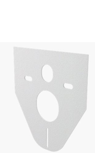 Alcaplast  M91 Hangszigetelő lemez függesztett WC-hez és bidéhez