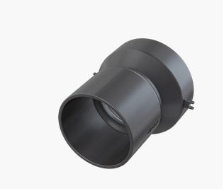 Alcaplast AVZ-P001 DN50 csatlakozó elem oldalsó bekötéshez