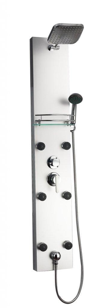 Sanotechnik ATOL zuhanypanel, alumínium