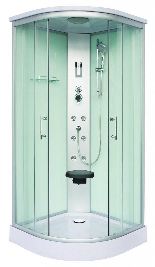 Sanotechnik Scala Hidromasszázs fehér zuhanykabin