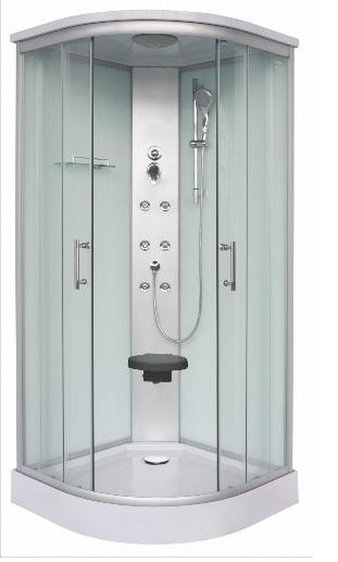 Sanotechnik Rumba Hidromasszázs fehér zuhanykabin