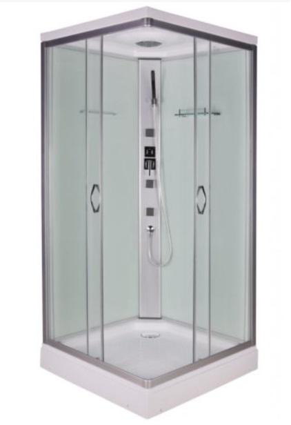 Sanotechnik Twist Hidromasszázs zuhanykabin 90x90x210 cm