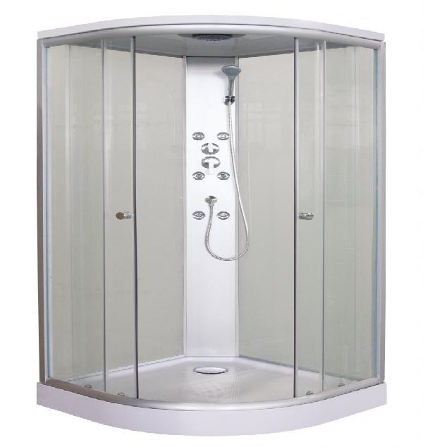 Sanotechnik Punto Hidromasszázs zuhanykabin fehér