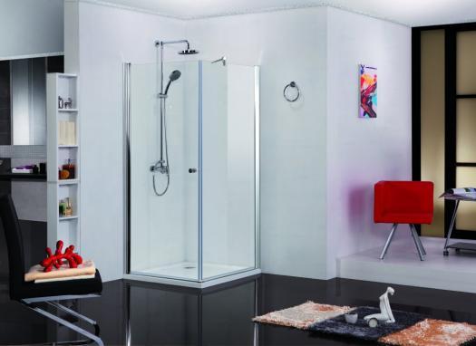 Sanotechnik Elegance szögletes sarokkabin 90x90x195 cm