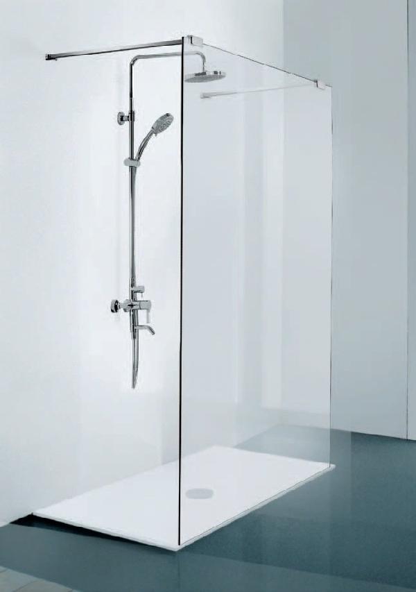 Sanotechnik Walk-In zuhanyfal 120x195 cm