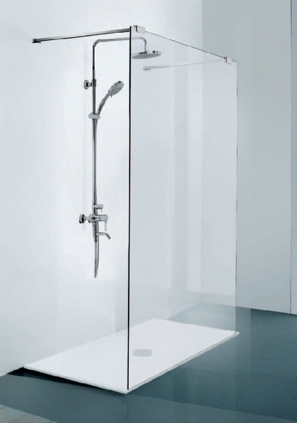 Sanotechnik Walk-In zuhanyfal 150x195 cm