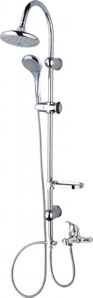 Sanotechnik Sínes zuhanyszett 2 fejjel AS454