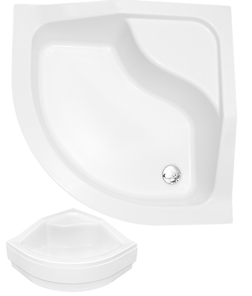 Niagara Wellness Zuhanytálcák Roni-A / OLIVER 80x80x15/25 cm