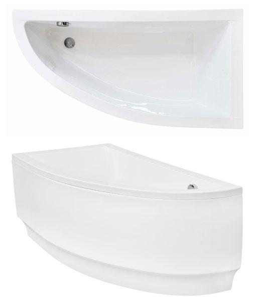 Niagara wellness Fanny / Praktika  150×70 cm jobbos asszimetrikus kád