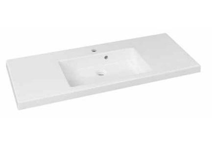 Duschland Quadra 120 centrális öntött márvány mosdó