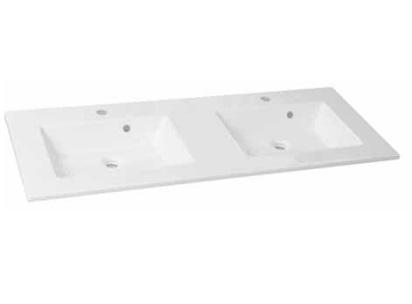 Duschland NEO 120 dupla öntött márvány mosdó