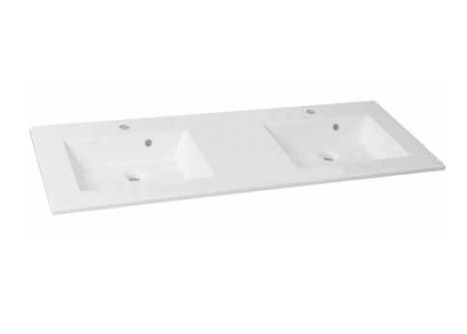 Duschland NEO 130 dupla öntött márvány mosdó