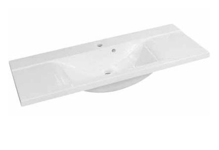 Duschland AVON 150 centrális öntött márvány mosdó