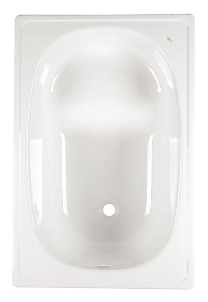 Aqualine lemez ülőkád 105x65 láb nélkül, fehér (V105x65S)