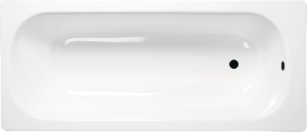 Aqualine lemez 120x70 láb nélkül, fehér (V120x70)